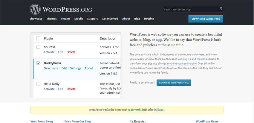 wordpress-homepage